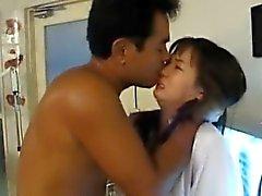 Enfermeras Japanese de AV del modelo está jodido oral como a de Cooter con