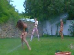 Rus gençlerbahçede su sporları