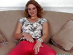 Amadores Anal Curtiu When She Masturbates ao orgasmo
