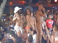 Миконосе Греция рай пляж лето партия