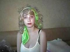 Yulia Blonde sjuksköterska