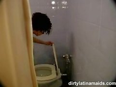 schmutzig Zimmermädchen