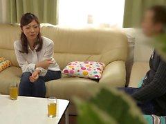 Hot casalinga asiatico ha una relazione con l'operaio mariti co