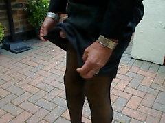 Lyft fram black fromal kjol