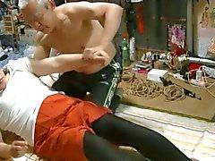 Very M's Jyosoukoujiko and horny bondage teacher 2