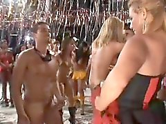Brazil анальной Orgy партия