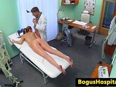 Стресс пациент трахает врач успокоится
