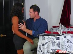 DP estrellas 3 - ébano Big Tit Jenna Foxx garganta profunda mamada