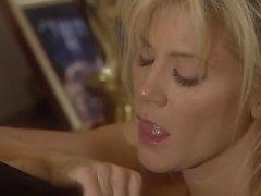 Lexi Belle let a guy in uniform lick her clit