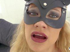 SEU LIMITE - sexo anal áspero e deepthroat com hot gata Russian Stasy Rivera