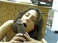 Asian- paquistanesa Brunette chupa Big Black de Dick Dravidiano