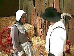 Аманитов фермера annalizes черного служанку