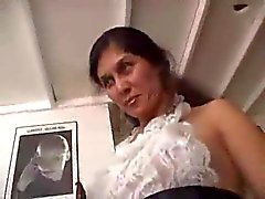 Hammering Hairy Milf Pussy of French Maid by TROC