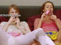 lésbicas francês brincando com corpos