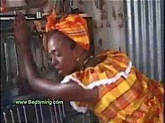 Африканских Подростка С его петух