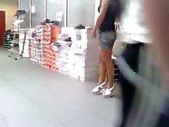 mağaza ayakkabı samimi açık kahve renkli külotlu çorap