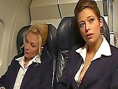 Hot and horny air hostesses