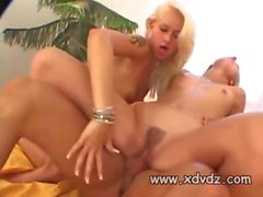 bisex action is what these blonde babes love the most