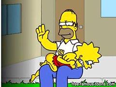 Homer Simpson ailesi sex