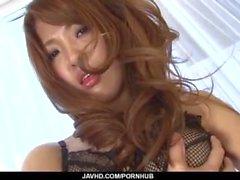 Sayaka Fukuyama ángel tetona se ocupa pene en el hardcore
