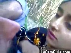 pakistani raziya and silam in forest love making