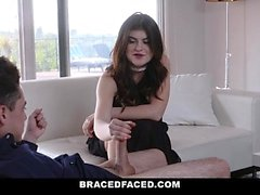 BraceFaced - Teen with Braces Take Creamy Load