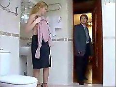 Sexy de de toilette Baisez