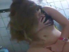 Arap güzellik web kamerasında oynuyor