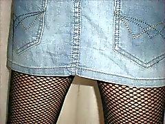 Fotos 4 Mini- Rock und Stiefel weiß