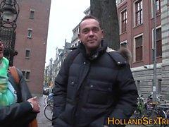 Hollandalı fahişe pislik yalıyor