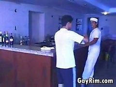 Geile Sailor Stampfen Einige Twink Im Ass