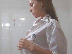 Sesso orale dopo la doccia hot