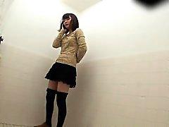 Japanese teens pissing