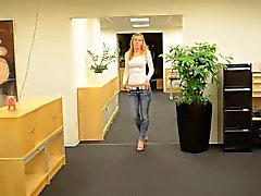 German Daria queen of high heels shopping 2