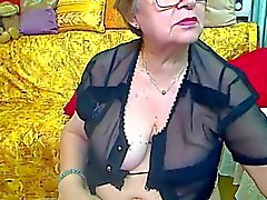 Real Granny in de webcam R20