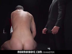 MormonBoyz Naughty Mormon Boy Punished By Hung Daddy