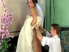 Jaclyn-Mike bride under dress