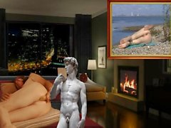 Masturbation anale penthouse nue par Mark Heffron