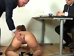Un'intervista di lavoro sporco a segretario