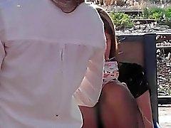 calze del upskirt