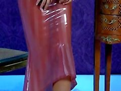 Jenny Poussin - Latex Chandelier
