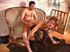 Французского любительский порно мать