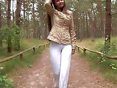 Eroberlin Anastasia Petrova Nudist Forest outdoor teen
