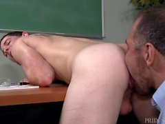 Cock Virgins Student Fucked par Teacher