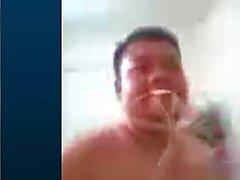 Mohamd Faial видео с мастурбацией