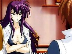 Di anime giapponesi si fa leccare un e dita la wetpussy