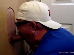 Sucer Biker Cock At The Gloryhole