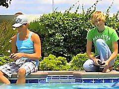 Eşcinsel XXX Muhteşem Camden Christianson ve ve Kaiden Ertel genç eşcinsel erkekler