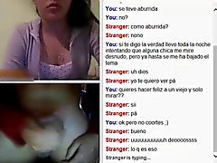 Dil boşalmak ile Webcam flaş