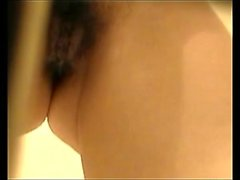 EXGF Amateur hairy asian shaving in shower